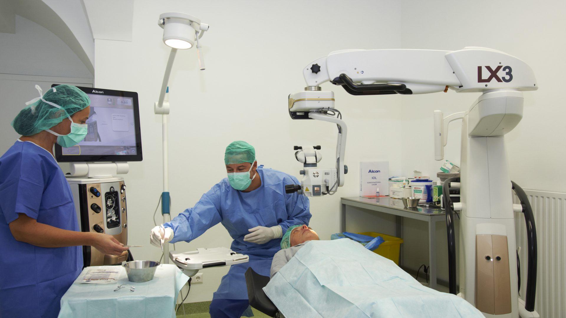 Grüner Star Behandlung - Augenzentrum Güssing