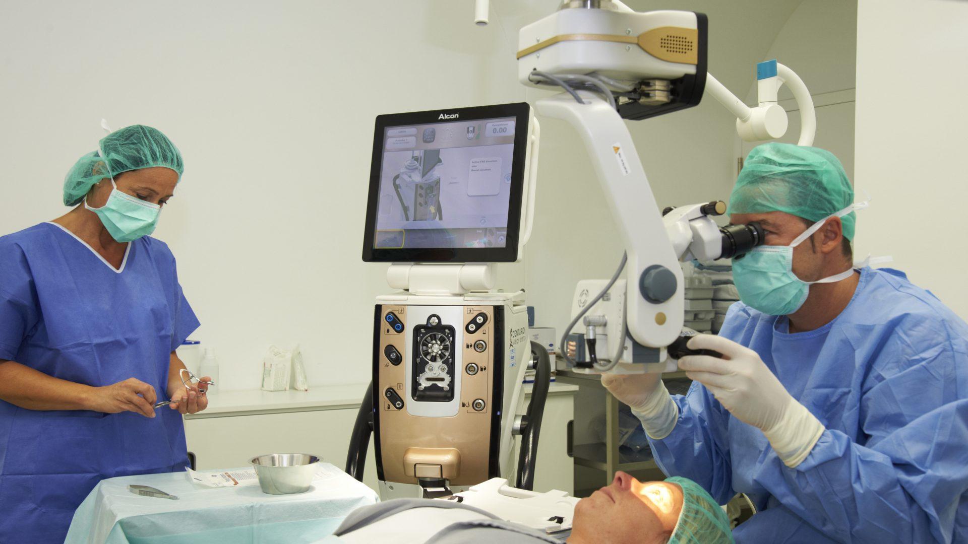 Behandlung Grauer Star - Augenzentrum Güssing