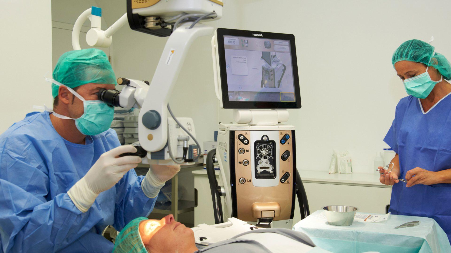 Grauer Star Behandlung - Augenzentrum Güssing